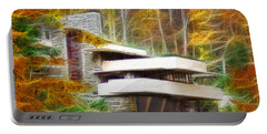 Fixer Upper - Frank Lloyd Wright's Fallingwater Portable Battery Charger