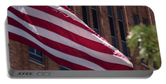 Flag Courtship Portable Battery Charger