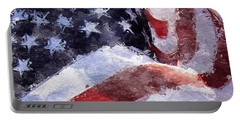 Flag Portable Battery Charger