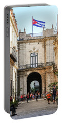 Flag Of Cuba Portable Battery Charger