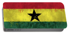 Flag Of Ghana Portable Battery Charger