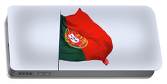 Portable Battery Charger featuring the photograph Flag Of Portugal by Menega Sabidussi