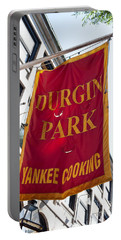 Flag Of The Historic Durgin Park Restaurant Portable Battery Charger