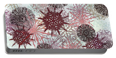 Flakes Love Portable Battery Charger by AugenWerk Susann Serfezi