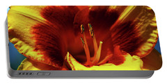 Flame Daylily 1238 H_2 Portable Battery Charger