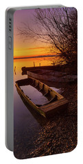 Portable Battery Charger featuring the photograph Flame Of Dawn by Davor Zerjav