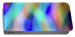 Flames Of Iridescence Portable Battery Charger