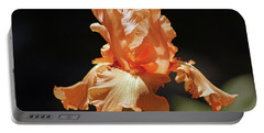Flaming Floral Portable Battery Charger by Deborah  Crew-Johnson