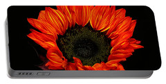 Portable Battery Charger featuring the photograph Flaming Flower by Judy Vincent