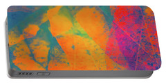 Portable Battery Charger featuring the photograph Flaming Foliage 1 by Ari Salmela