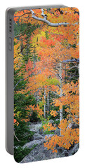 Flaming Forest Portable Battery Charger