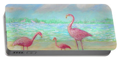Flamingo Dreaming Portable Battery Charger