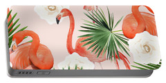 Flamingo Guava Portable Battery Charger