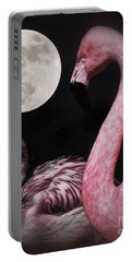 Flamingo Moon  Portable Battery Charger