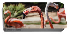 Flamingo Pair Portable Battery Charger
