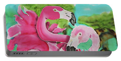 Flamingo Passion Portable Battery Charger