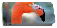 Flamingo Portrait Portable Battery Charger