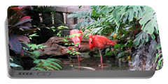 Flamingos Portable Battery Charger