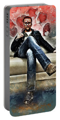 Flanery Valentine Portable Battery Charger