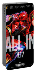 Flash Poster Justice League Portable Battery Charger