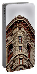 Flatiron Building Detail Portable Battery Charger