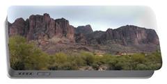 Flatiron Of The Superstition Mountains Portable Battery Charger
