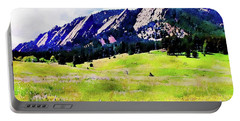 Flatirons - Boulder, Colorado Portable Battery Charger