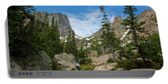 Flattop Mountain Portable Battery Charger by John Roberts