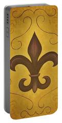 Fleur De Lis II Portable Battery Charger