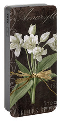 Amaryllis Paintings Portable Battery Chargers