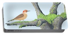 Flicker In The Apple Tree Portable Battery Charger