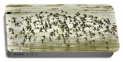 Portable Battery Charger featuring the photograph Flight by Mary Jo Allen