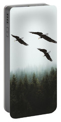Portable Battery Charger featuring the photograph Flight Of The Eagles by Ericamaxine Price