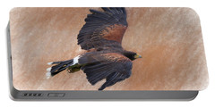 Flight Of The Harris Hawk Portable Battery Charger