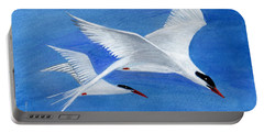 Flight - Painting Portable Battery Charger by Veronica Rickard