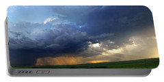 Flint Hills Storm Panorama 2 Portable Battery Charger