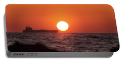 Floating Around The Sun Portable Battery Charger