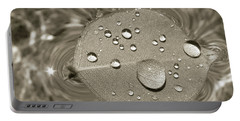Floating Droplets Portable Battery Charger