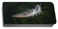 Floating Feather Portable Battery Charger