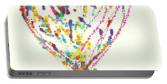 Floating Heart Portable Battery Charger