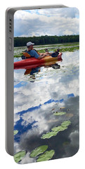 Floating In The Sky Portable Battery Charger