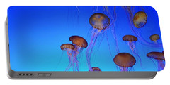 Floating Jellyfish Ballet Portable Battery Charger