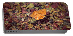 Floating Leaf Portable Battery Charger