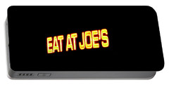 Floating Neon - Eat At Joes Portable Battery Charger