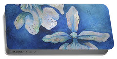 Floating Orchid Portable Battery Charger by Shadia Derbyshire