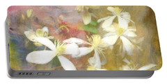Floating Petals Portable Battery Charger