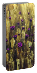 Floating Royal Roses 1 Portable Battery Charger