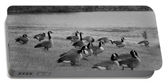Flock Of Geese Portable Battery Charger