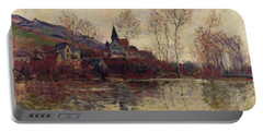 Floods At Giverny Portable Battery Charger