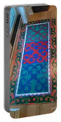 Floor Cloth Arabesque Portable Battery Charger